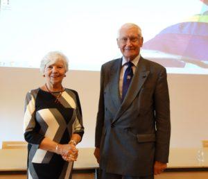 Mevr. M.T. Kramer en Prof. dr. Mebius Kramer, 2016